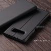 เคส Samsung Galaxy Note 8 เคสฝาพับเกรดพรีเมี่ยม เย็บขอบ พับเป็นขาตั้งได้ สีดำ (มีตัวล๊อคแม่เหล็ก) แบบที่ 2