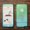 เคส iPhone 6 / iPhone 6s เคสแข็งความยืดหยุ่นสูง (ด้านหน้า/ด้านหลัง) สีสันสดใส (สีเขียว/สีฟ้า)