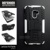 เคส Lenovo K4 Note / A7010 กรอบบั๊มเปอร์ กันกระแทก Defender สีขาว (เป็นขาตั้งได้)