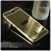 เคส HTC ONE A9 l เคสฝาหลัง + Bumper (แบบเงา) ขอบกันกระแทก สีทอง