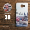เคส Samsung Galaxy A5 2016 เคสแข็งพิมพ์ลายนูน สามมิติ 3D แบบ 8 Romantic Praha