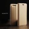 เคส Huawei P10 เคสฝาพับเกรดพรีเมี่ยม เย็บขอบ พับเป็นขาตั้งได้ สีทอง (Dux Ducis)