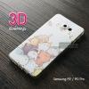 เคส Samsung Galaxy A9 / A9 Pro เคสนิ่ม TPU พิมพ์ลาย 3D แบบที่ 3 (ครอบคลุมกล้องยิ่งขึ้น)