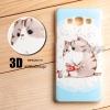 เคส Samsung Galaxy A7 เคสแข็งพิมพ์ลายนูน สามมิติ 3D แบบ 4