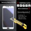 (มีกรอบ 3D แบบคลุมขอบ) กระจกนิรภัย-กันรอยแบบพิเศษ ขอบมน 2.5D ( Samsung Galaxy A9 Pro ) ความทนทานระดับ 9H สีขาว