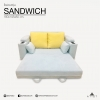 โซฟาเบด รุ่น SANDWICH Sofa Bed ปรับนอนได้ 180 x 195 x 80 cm
