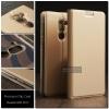 เคส Huawei GR5 2017 เคสฝาพับเกรดพรีเมี่ยม (เย็บขอบ) พับเป็นขาตั้งได้ สีทอง (Dux Ducis)