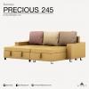 โซฟาเบด เก็บของได้ เข้ามุม 245cm รุ่น Precious2.45M (มี 3 ขนาด)