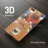 เคส ZTE Nubia Z9 Max เคสนิ่ม TPU พิมพ์ลาย 3D แบบที่ 2