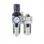 ชุดกรองลมปรับแรงดัน + เติมน้ำมัน รุ่น AC-4010-04
