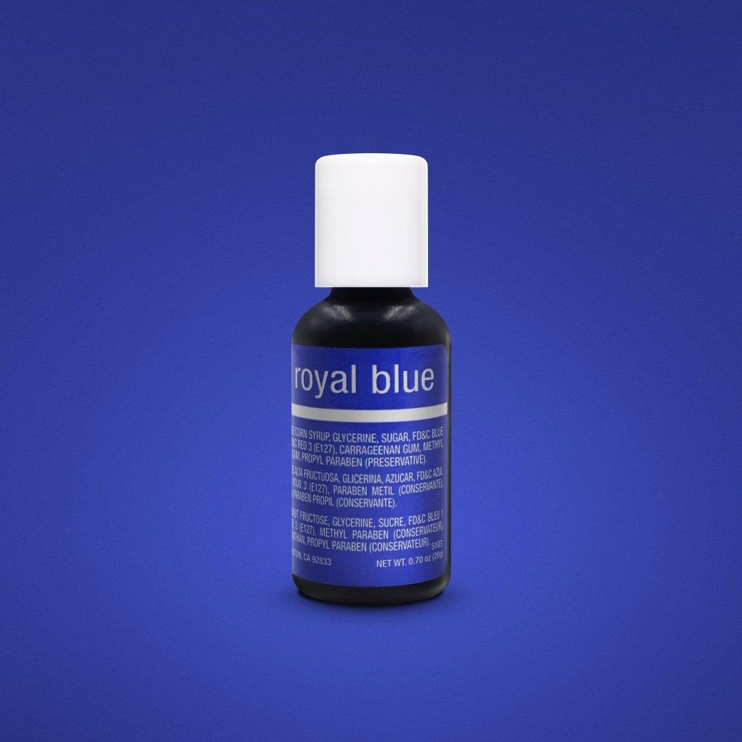 Chefmaster Royal Blue Liqua-Gel Food Coloring 20ml (5103)/0.7oz