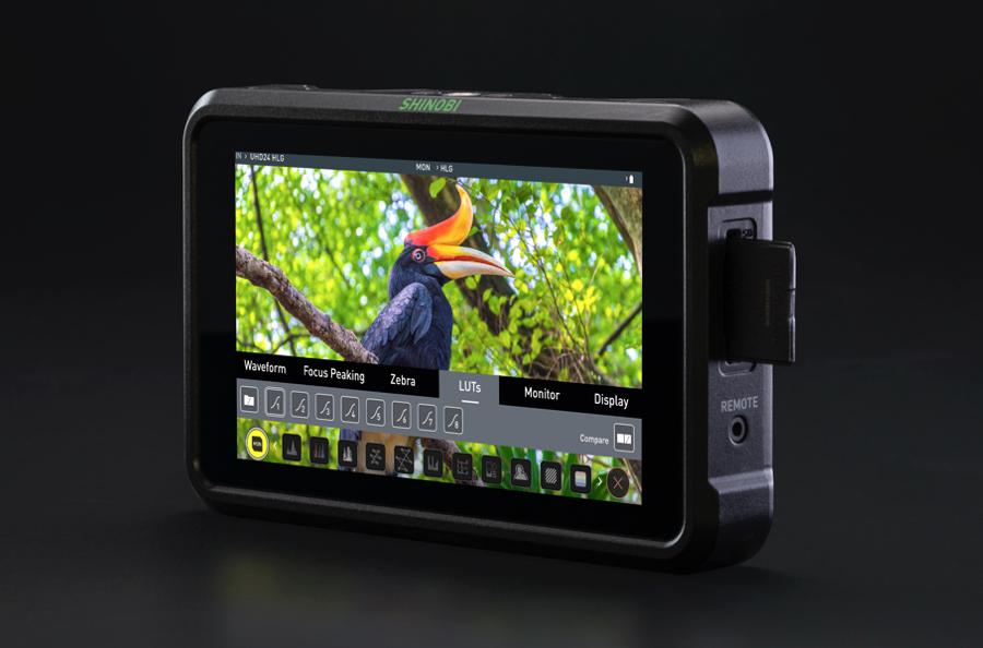 "ATOMOS SHONOBI 5"" HDR Photo & Video Monitor 4K HDMI input"